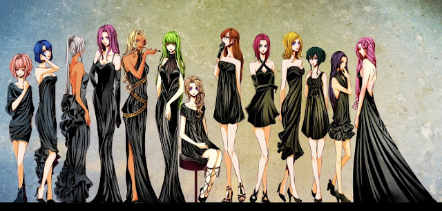 The Women of Code Geass