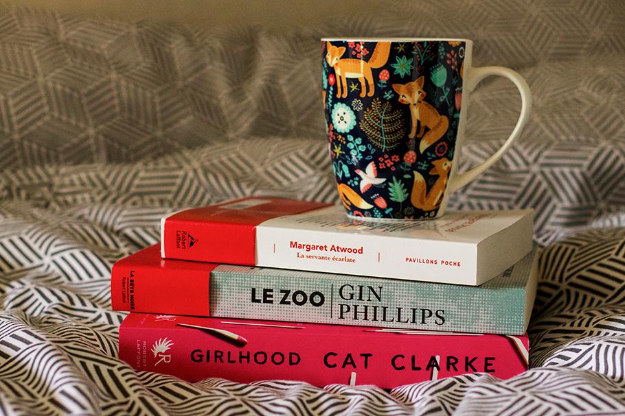 servante écarlate, girlhood, le zoo, livres, lecture