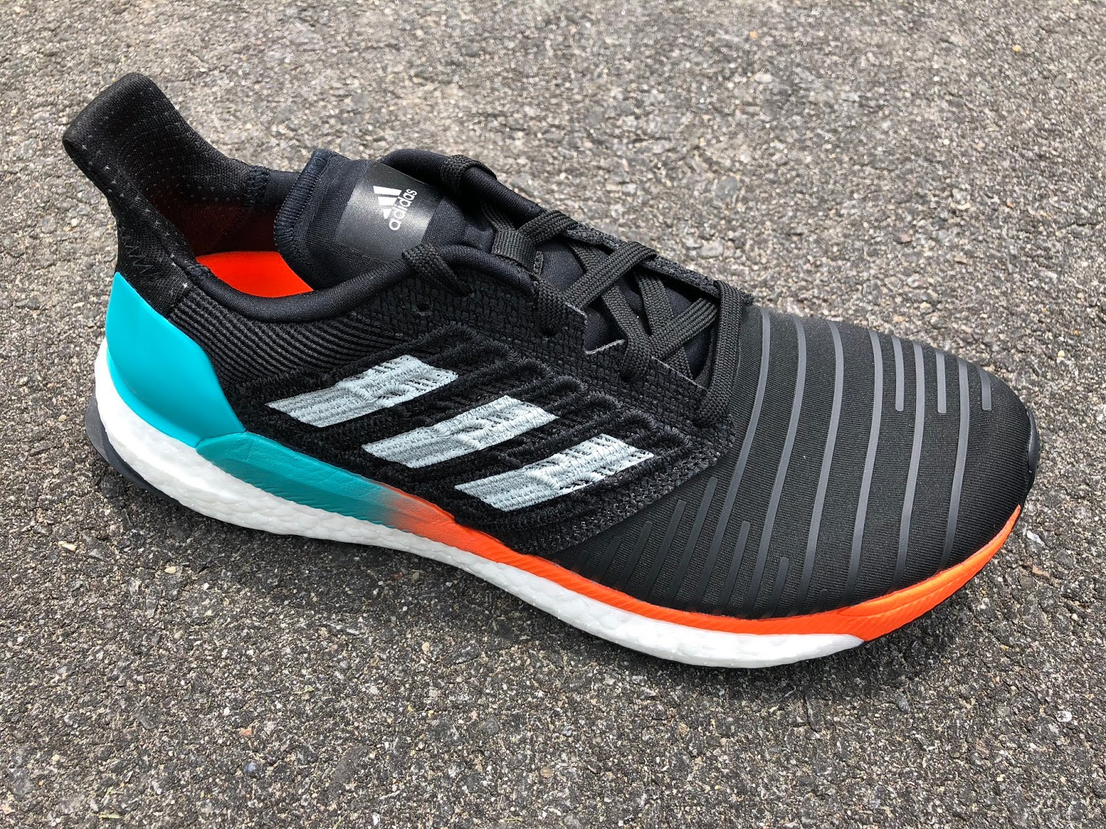 Road Trail Run  adidas Solar Boost Review Initial Review Boost  Splashy Tropical   231a06