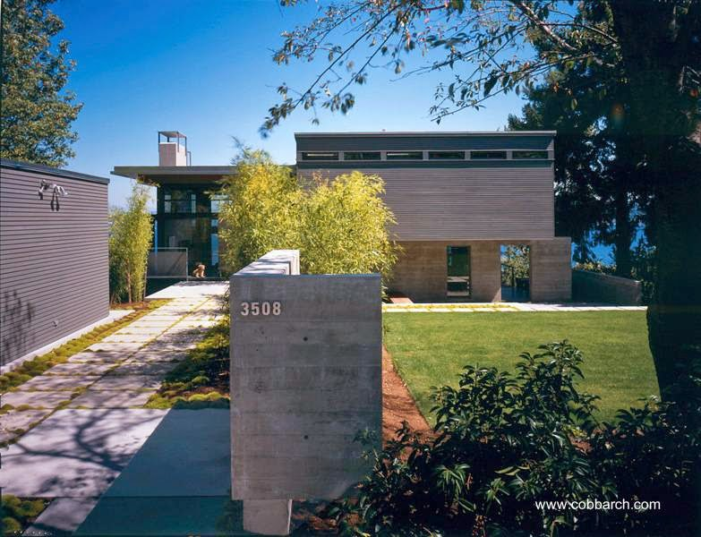 Moderna casa estilo Contemporáneo en el estado de Washington, Estados Unidos