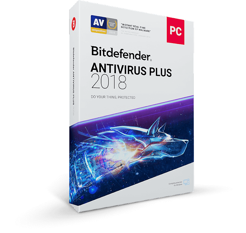 BitDefender Antivirus Plus 2018 Free Download