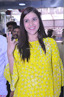 Mannara Chopra Looks Cute in Yellow Salwar Suit ~  Exclusive 45.JPG