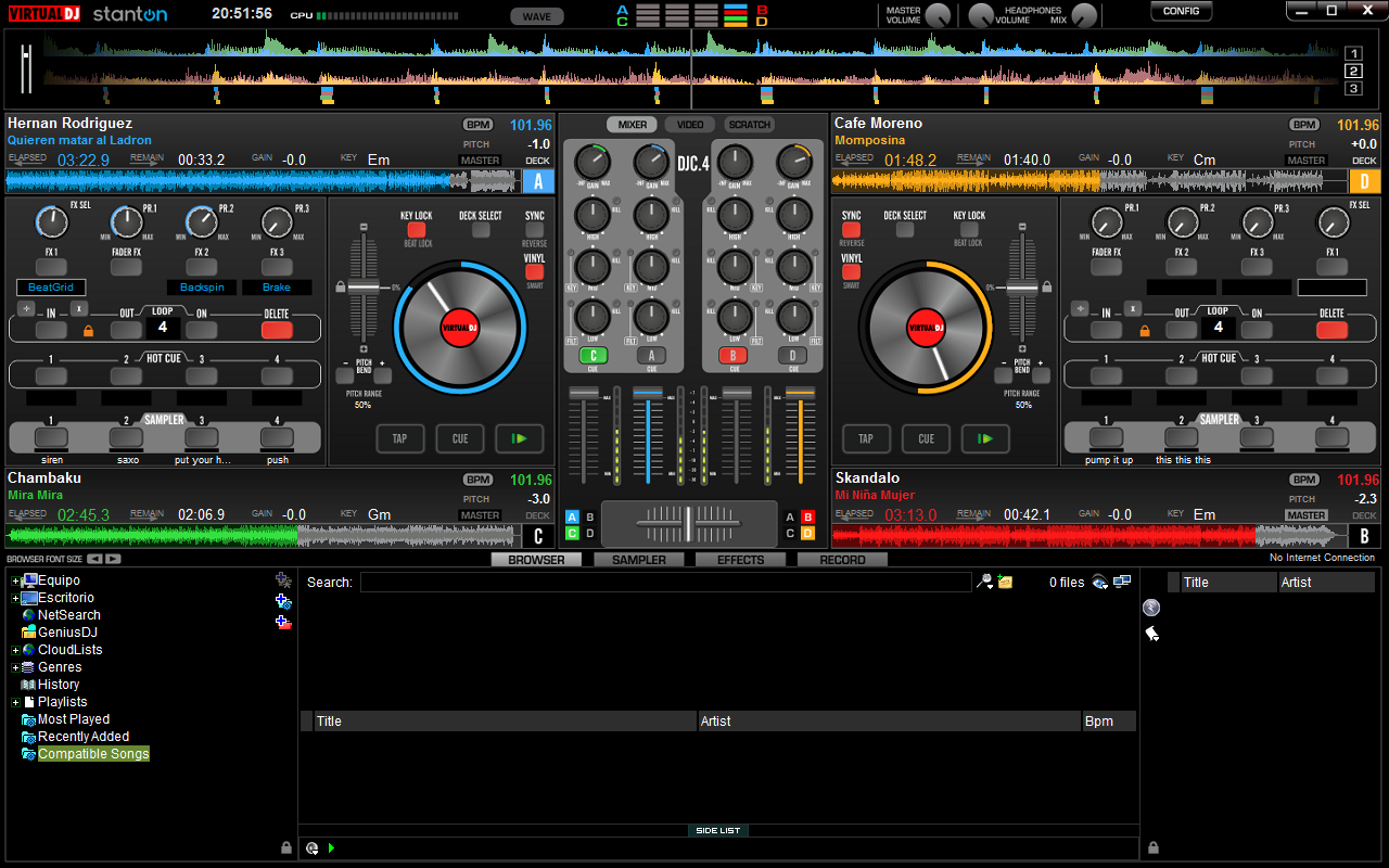 Virtual Dj Api