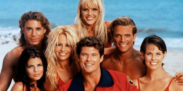 film serial barat era 90-an, baywatch