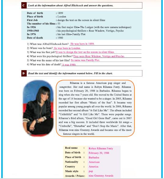 9. Sınıf Yıldırım Yayınları İngilizce A1.1 Çalışma Kitabı 48. Sayfa Cevapları Theme 6 History