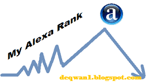 Rank Alexa Blog Turun Drastis