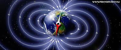 A mágneses áramlatok megváltozása