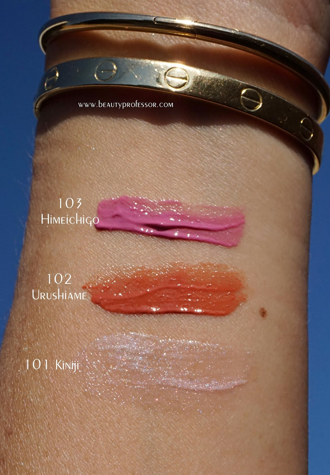 suqqu spring summer 2019 collection swatches lip stain