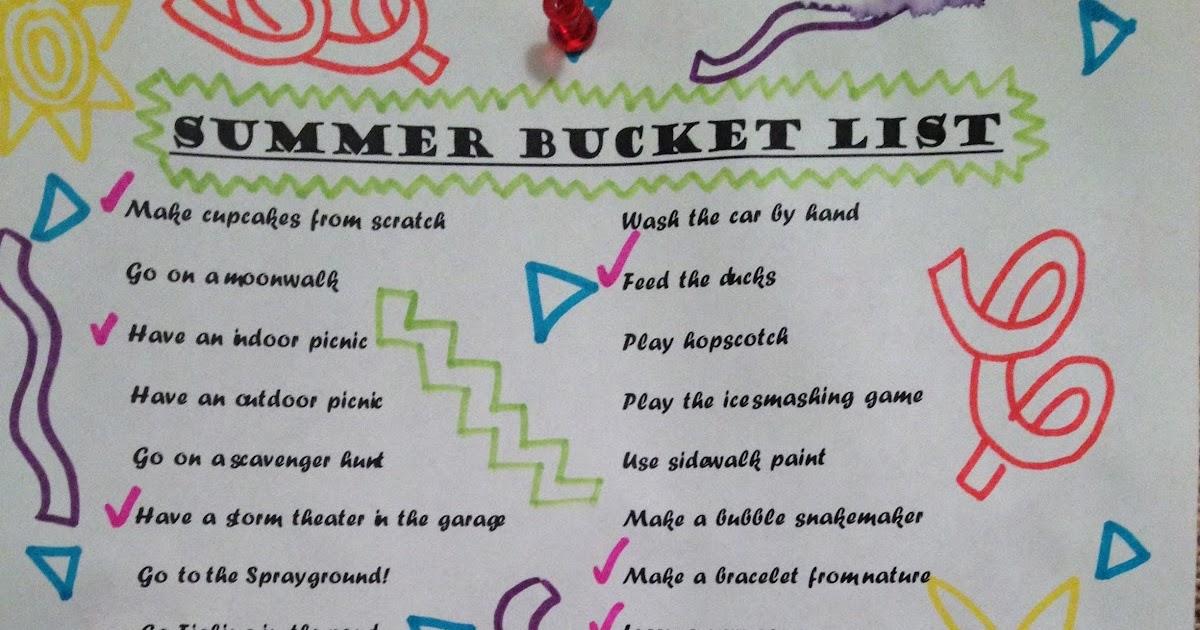 Doc Momma: Summer Bucket List