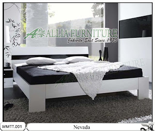 Tempat Tidur minimalis modern nevada