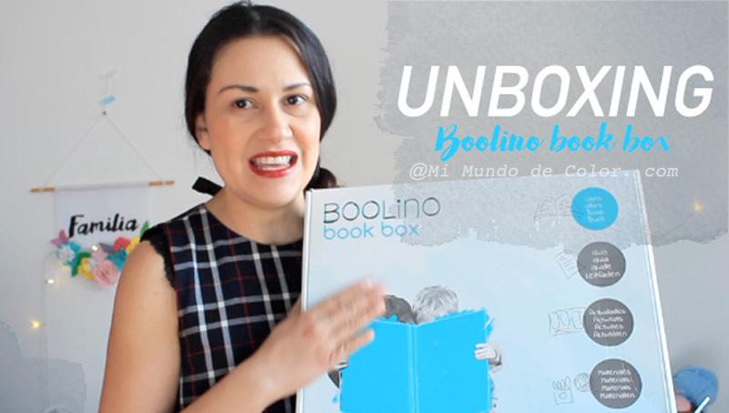 UNBOXING BOOLINO BOOK BOX PARA NIÑOS DE 1 A 3 AÑOS