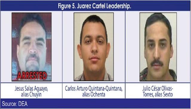 Estos son los Capos del narco que la DEA tiene en la mira