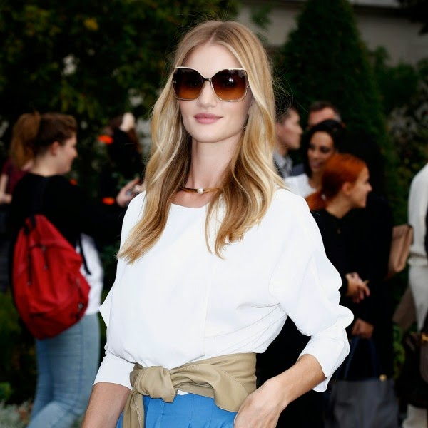 Rosie Huntington-Whiteley's Hair Is Now Super-Short
