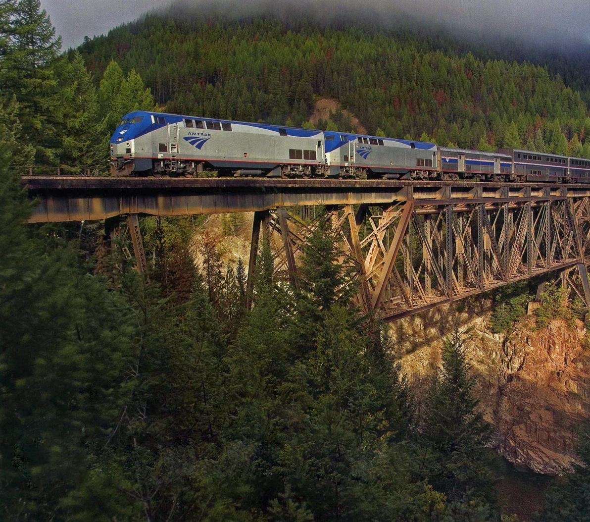 Amtrak Coast Starlight 14: Transpress Nz: Amtrak In Oregon