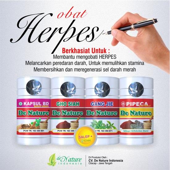 pengobatan herpes tradisional