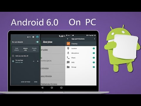 Android 6.0 Marshmallow x86 for PC Free Downlaod
