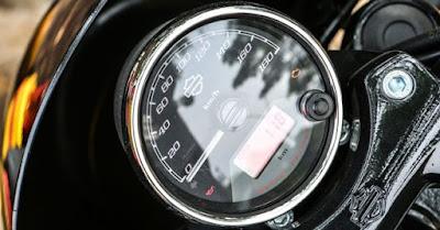 2017 Harley-Davidson Street 750 speed mitor