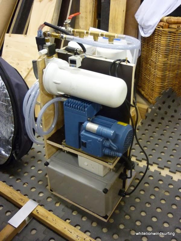Whitelion Windsurfing: DIY - Vacuum Bagging System