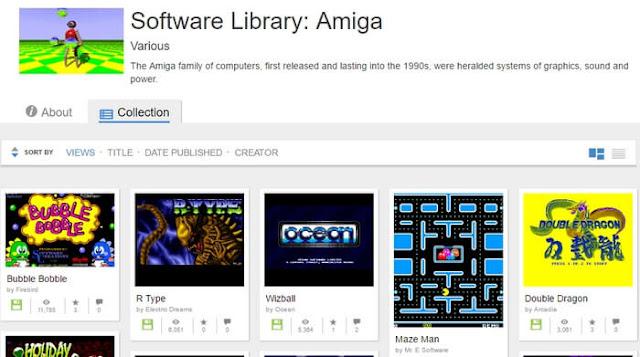 Παίξε παιχνίδια της Amiga από τον Browser