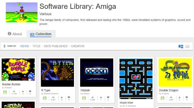 Παίξε δωρεάν πάνω από 10.000 παιχνίδια της Amiga!