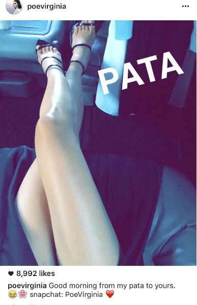 Lovi Poe legs