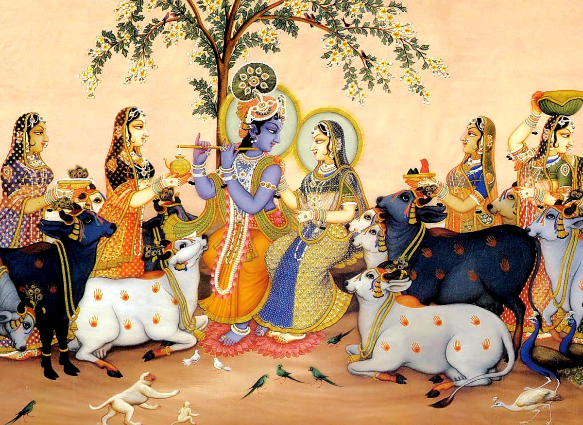 Happy Krishna Janmashtami: जन्माष्टमी की बधाई देनी हो तो भेजें ये Whatsapp और FB मैसेज {Happy Krishna Janmashtami}