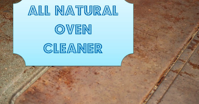 Gingerbabymama All Natural Oven Cleaner
