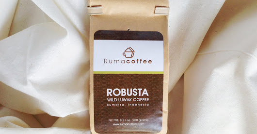 Robusta Wild Luwak Coffee Sumatra 100gr - Kopi TOP