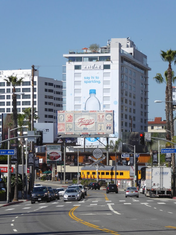 Fargo season 3 billboard Sunset Strip