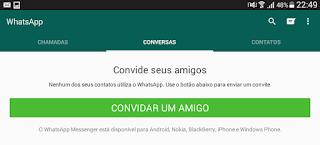 Convidar amigos no WhatsApp