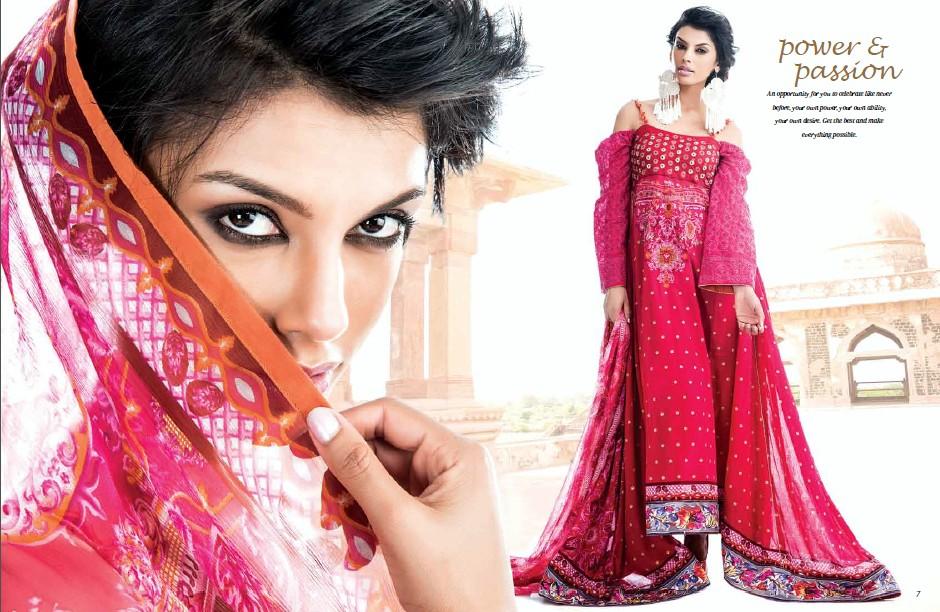 JG Fashion: Five Star Vogue Embroidered Silk Glamour Girls ... |Five Star Lawn Eid Collection