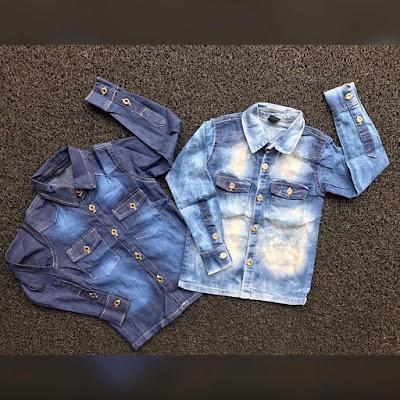 Jeans infantil direto do fábrica