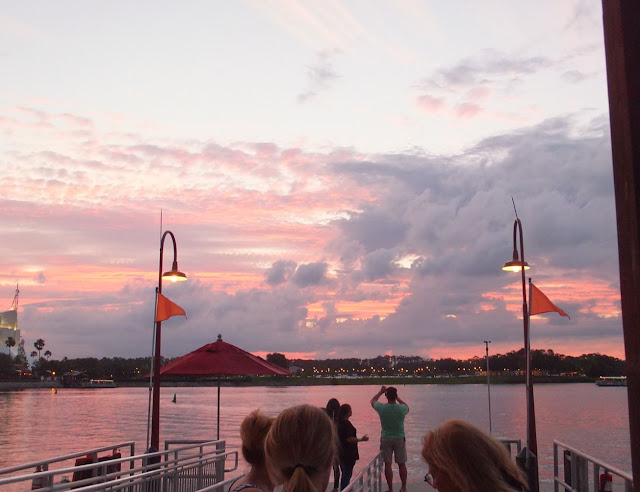 View of water at Disney Springs