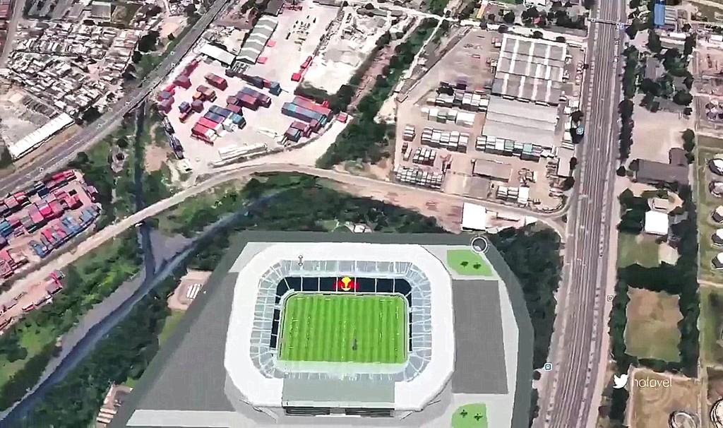 1df1de7399 Flamengo pretende pagar até R  100 milhões por terreno de estádio ...