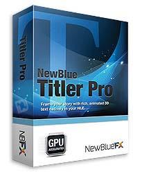 Newbluefx titler pro free download.