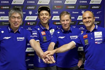 Batal Pensiun, Rossi Teken Kontrak Durasi 2 Musim Bersama Yamaha