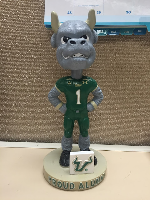 team mascot bobblehead