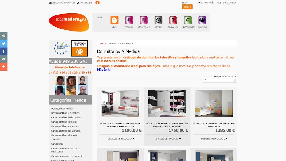 http://www.tocamadera.es/dormitorios-a-medida.html