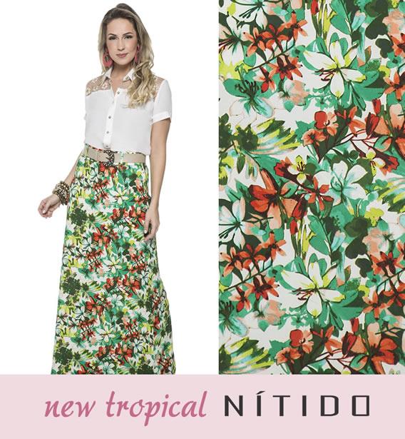 Novo tropicalismo para o Alto Verão da Nítido Moda Evangélica