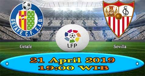 Prediksi Bola855 Getafe vs Sevilla 21 April 2019