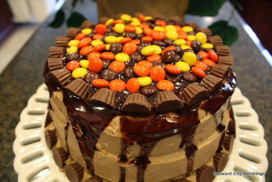 Reese's Peanut Butter Cake...pure Heaven!