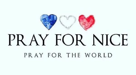 Pray for Nice - 14.07.2016         |          La Bulle d'Océane