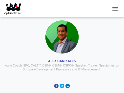 Alex Canizales - Agiles Colombia 2019