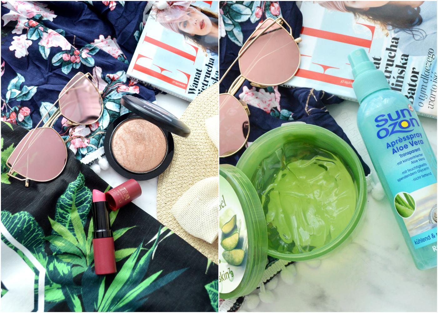 wakacyjny niezbędnik kosmetyczny blog