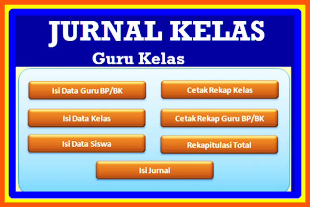 Download Aplikasi Jurnal Kelas 2017