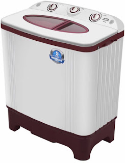 Intex WMSA62RD 6.2 kg Semi Automatic Washing Machine