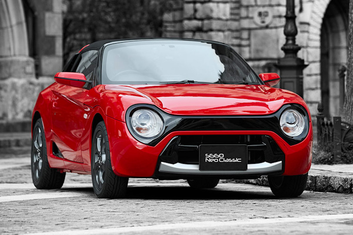 You Want to Look at the Honda S660 Neo Classic All Day ...