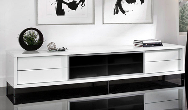 Kumpulan Desain Meja dan Rak TV Minimalis Terbaru Yang Elegan 019
