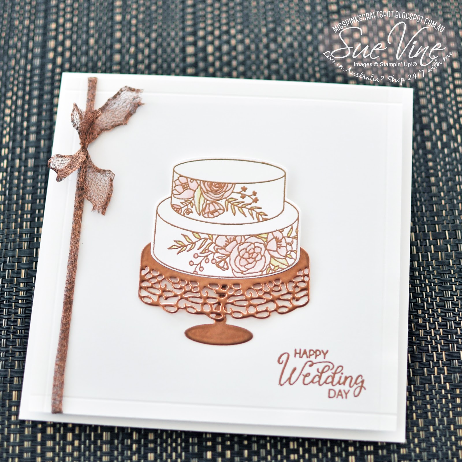 Miss Pinks Craft Spot: Happy Wedding Day with Sweet Soiree - SDBH ...
