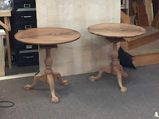 Handcrafted Tea Table